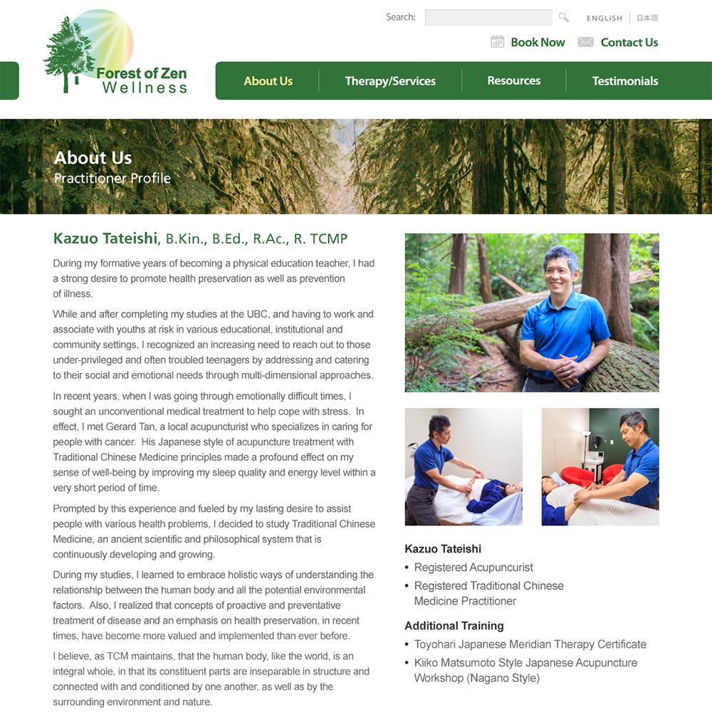 Forest of Zen Wellness | Resourcecode Media Inc